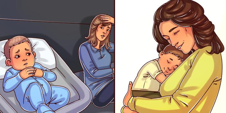 عناق الاطفال