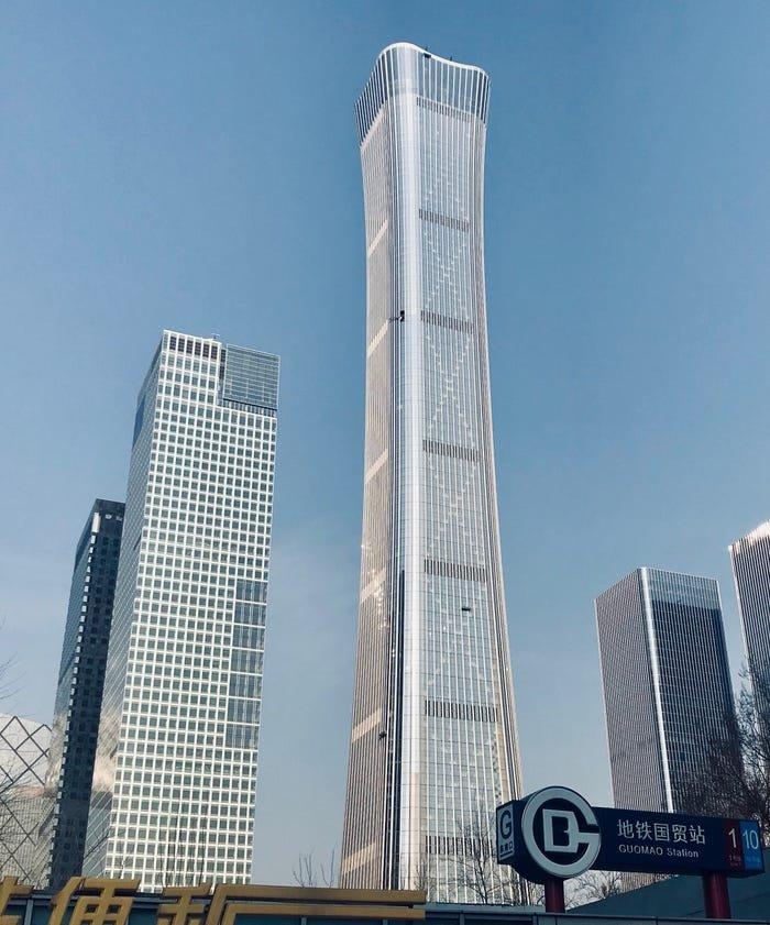 أطول ناطحة سحاب في بكين China Zun