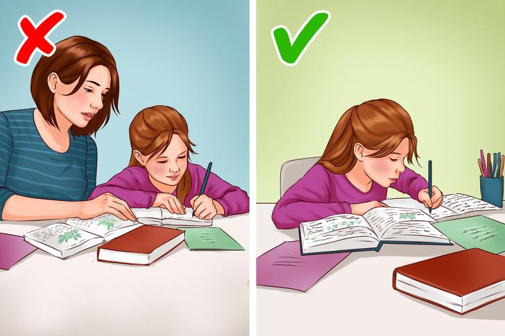 تربية الطفل على القيام بواجباته بنفسه