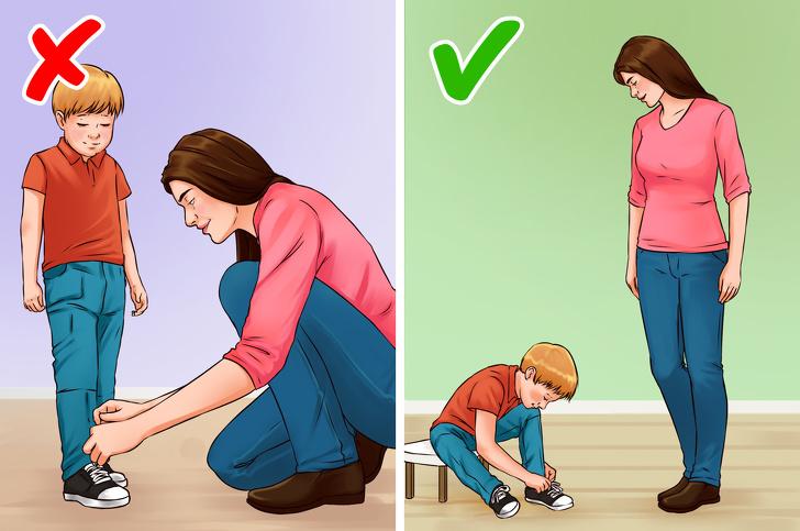 تربية الطفل على الاعتماد على نفسه