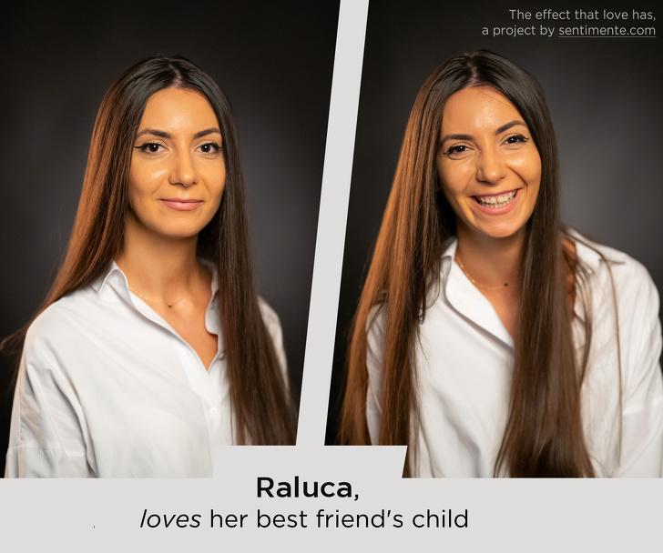 تأثير الحب على ملامح الوجه