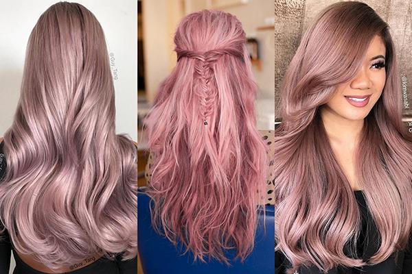 ألوان الشعر