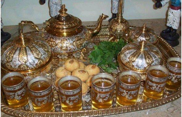 الشاي المغربي