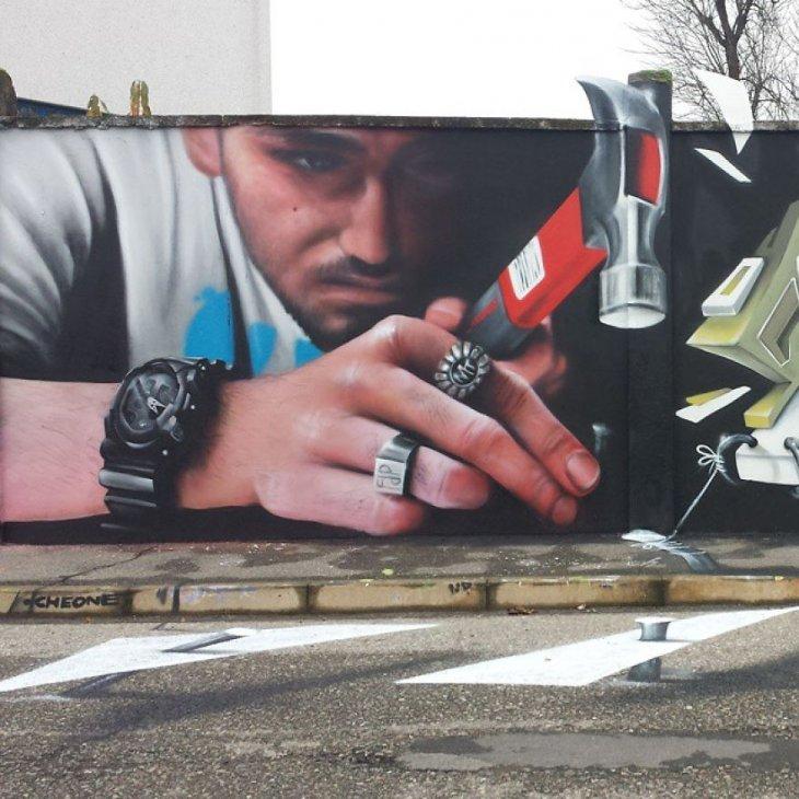 اشكال فن الشارع