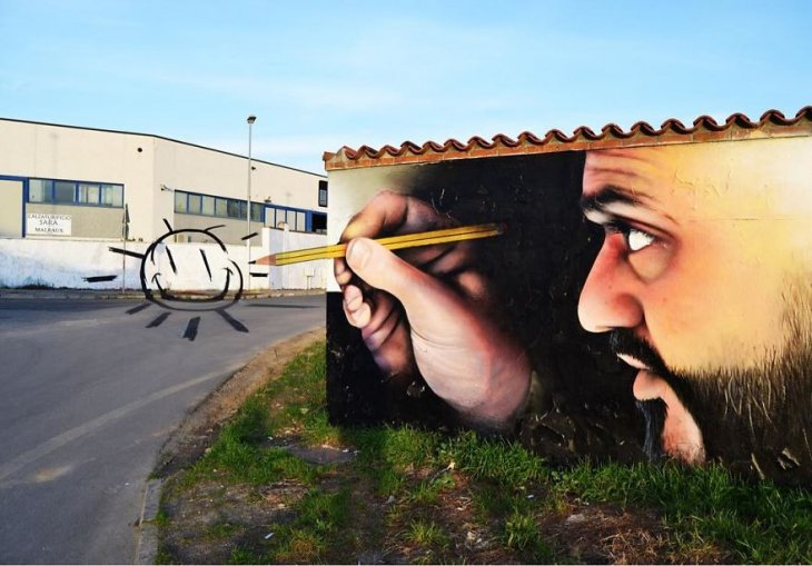 صورة من  فن الشوارع