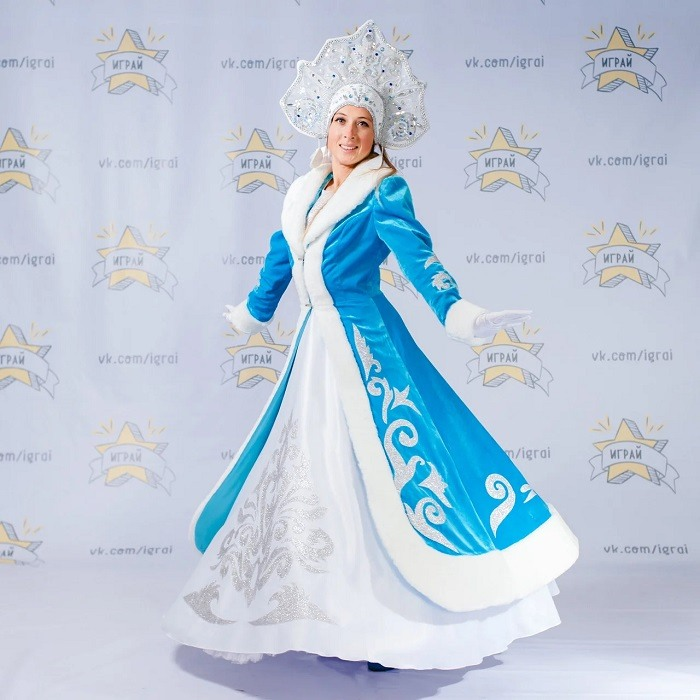 ملابس أميرات الثلج