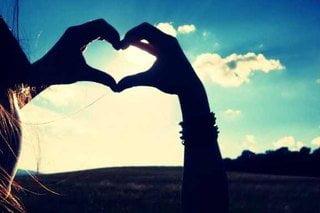 القلب اليدين